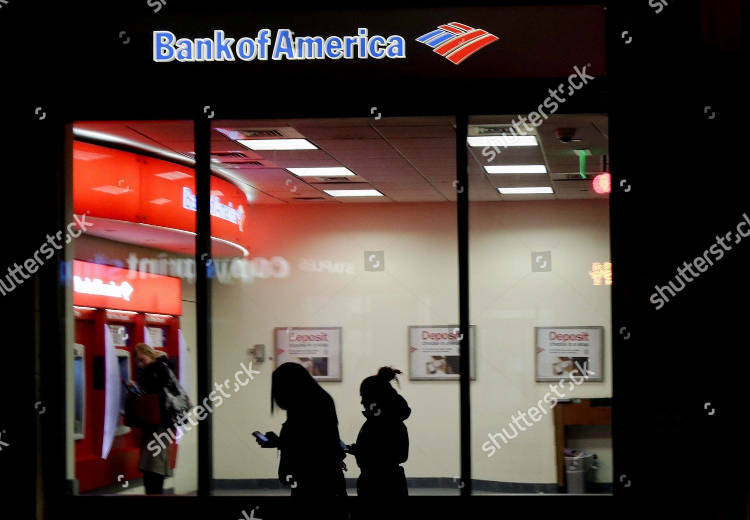Bank of america atm fees in usa