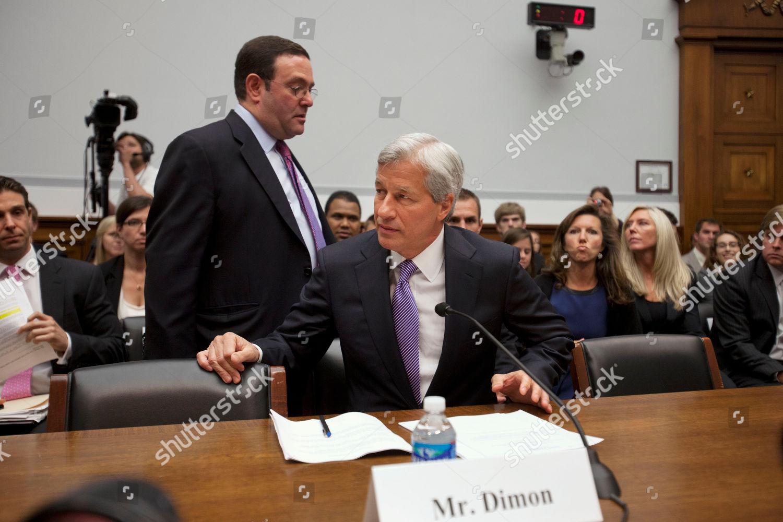 Jamie Dimon Jamie Dimon CEO JPMorgan Chase Editorial Stock Photo
