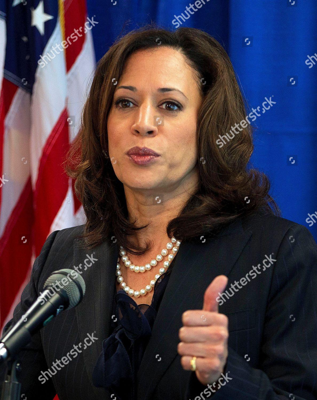 Kamala D Harris California Attorney General Kamala Editorial Stock Photo Stock Image Shutterstock