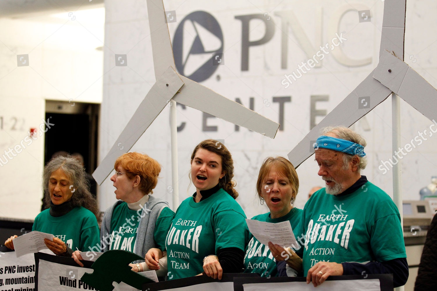 Amy Ward Brimmer Five Earth Quaker Action Editorial Stock Photo