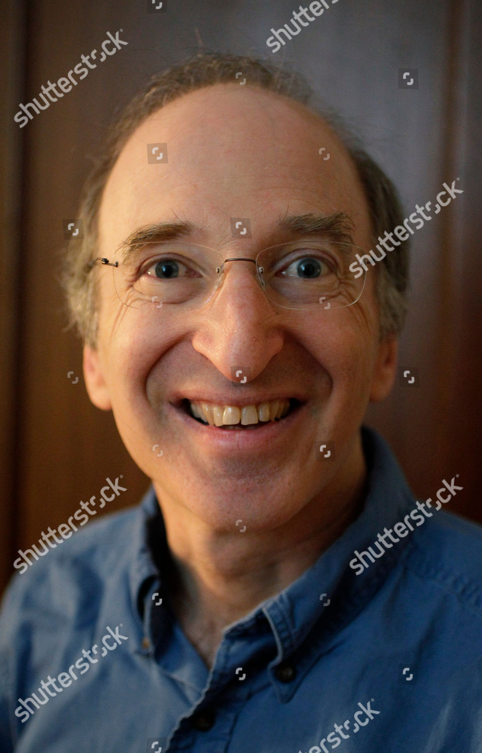 Stock photo of Nobel Physics Perlmutter, Berkeley, USA