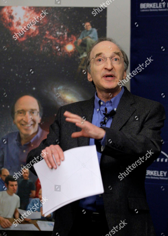 Stock photo of Nobel Prize Perlmutter, Berkeley, USA