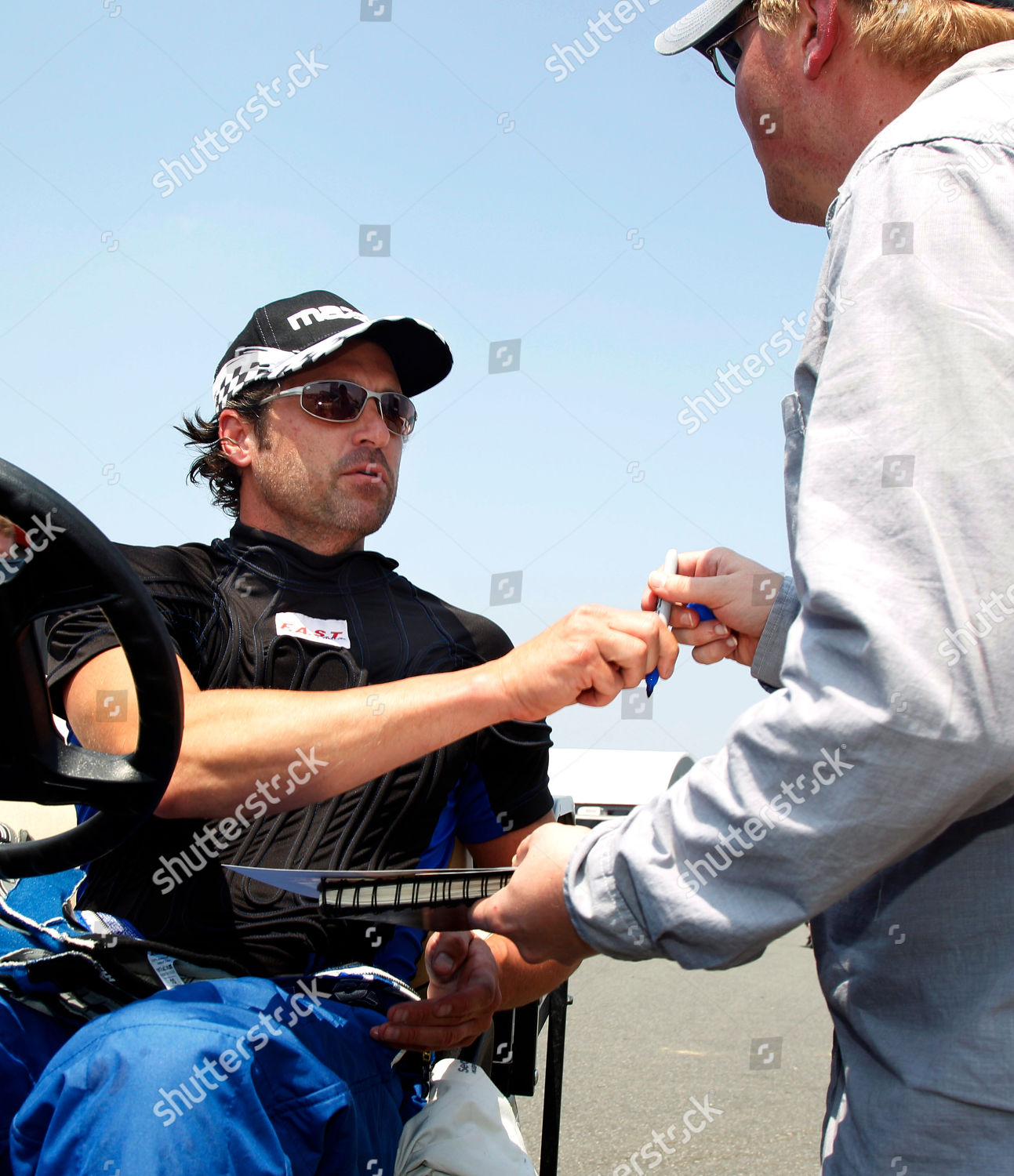 Patrick Dempsey Actor Race Car Driver Patrick Editorial Stock Photo