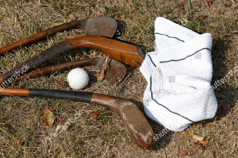 Stock photo of Old Golf Course, White Sulphur Springs, USA
