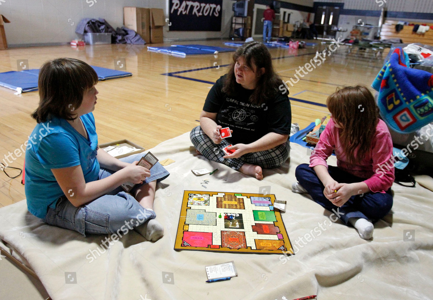Joanie Allis Center Plays Game Clue Her Editorial Stock Photo