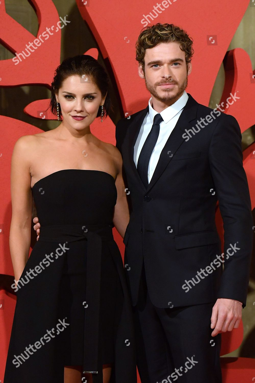 Annabel Scholey Medici annabel scholey richard madden editorial stock photo - stock