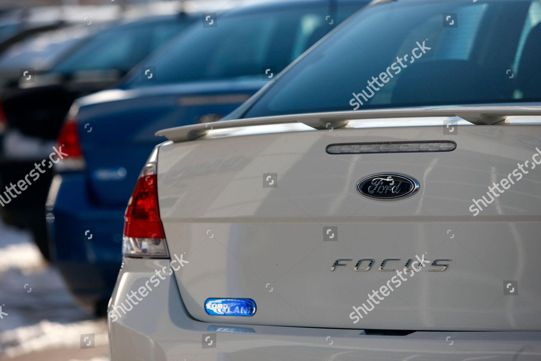 2010 Ford Focus sedans this Dec 27 Editorial Stock Photo - Stock