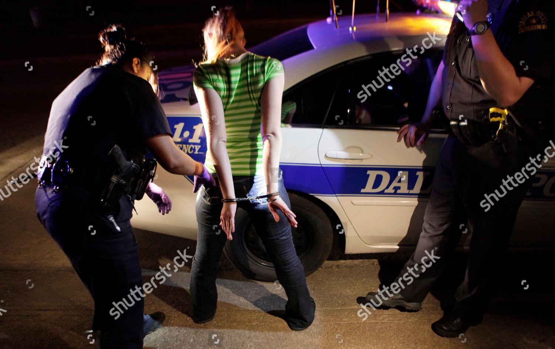 Dallas police arrest young woman prostitution Dallas