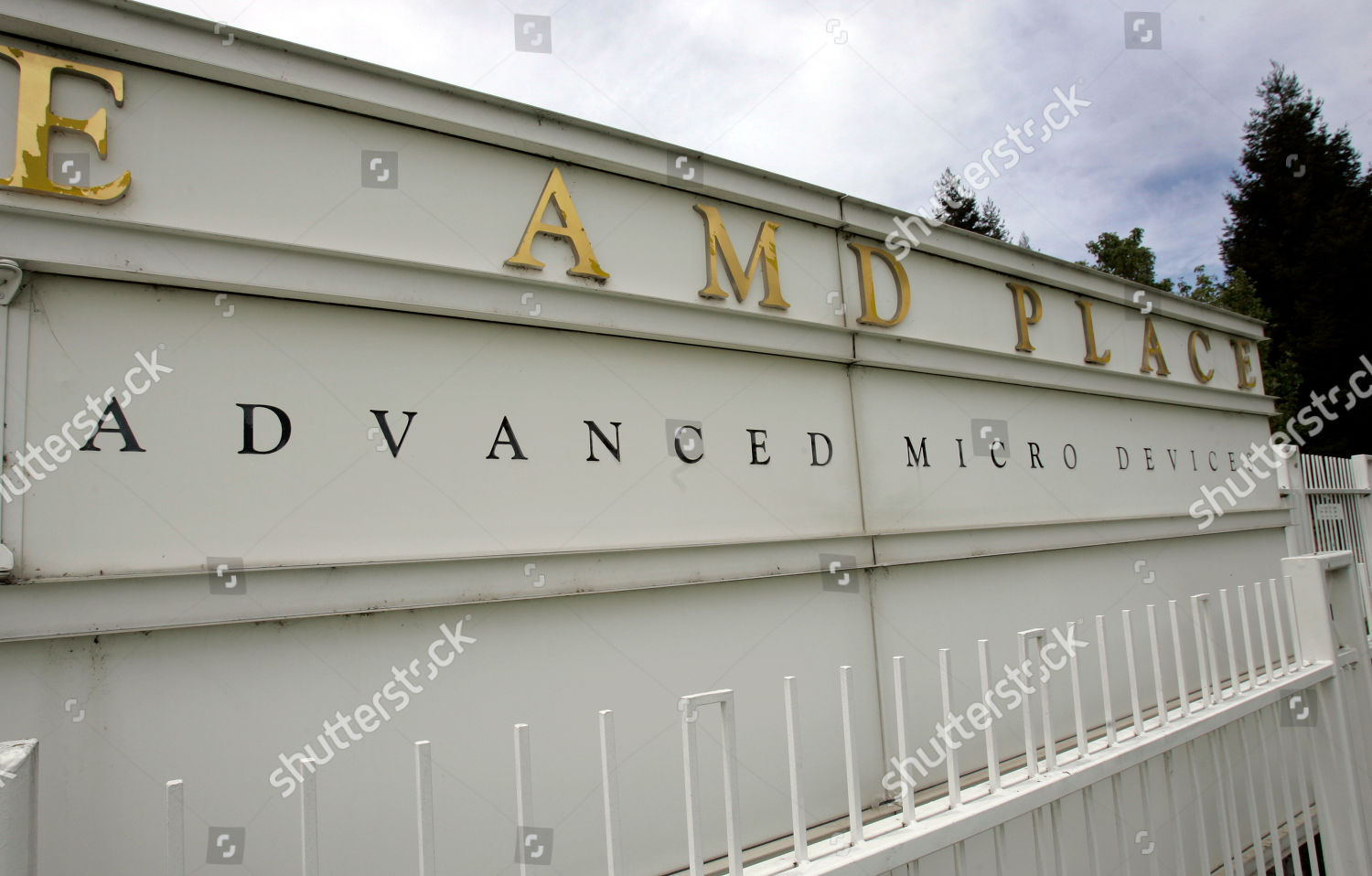 Exterior View Advanced Micro Devices Amd Headquarters Editorial Stock Photo Stock Image Shutterstock