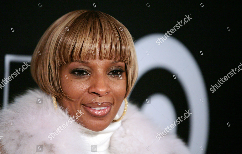 Mary J Blige Recording artist Mary J Editorial Stock Photo - Stock