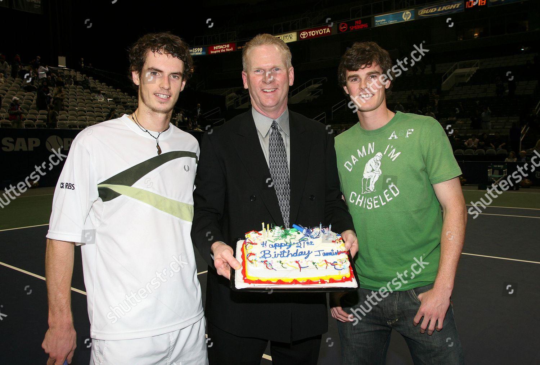 Phenomenal Andy Murray Brother Jamie Enjoy Some Birthday Editorial Stock Funny Birthday Cards Online Inifofree Goldxyz