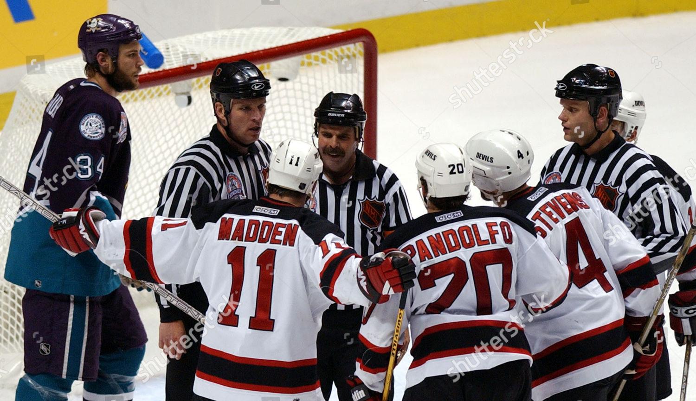 half off 5fdd2 2b72e New Jersey Devils John Madden Jay Pandolfo Editorial Stock ...