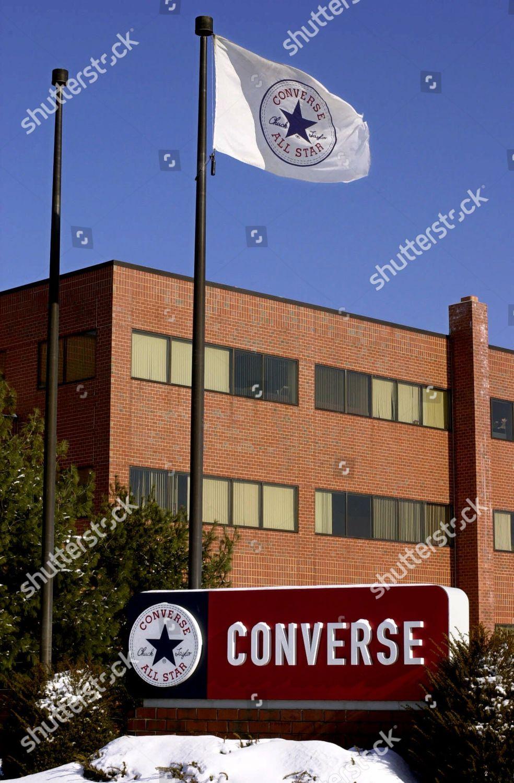 bd094e147267 CONVERSE HEADQUARTERS logo Converse Inc shoe manufacturer Editorial ...
