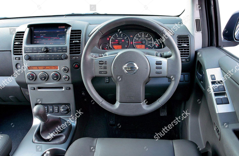 Interior Nissan Pathfinder 25 Dci Tspec Which Editorial Stock Photo Stock Image Shutterstock