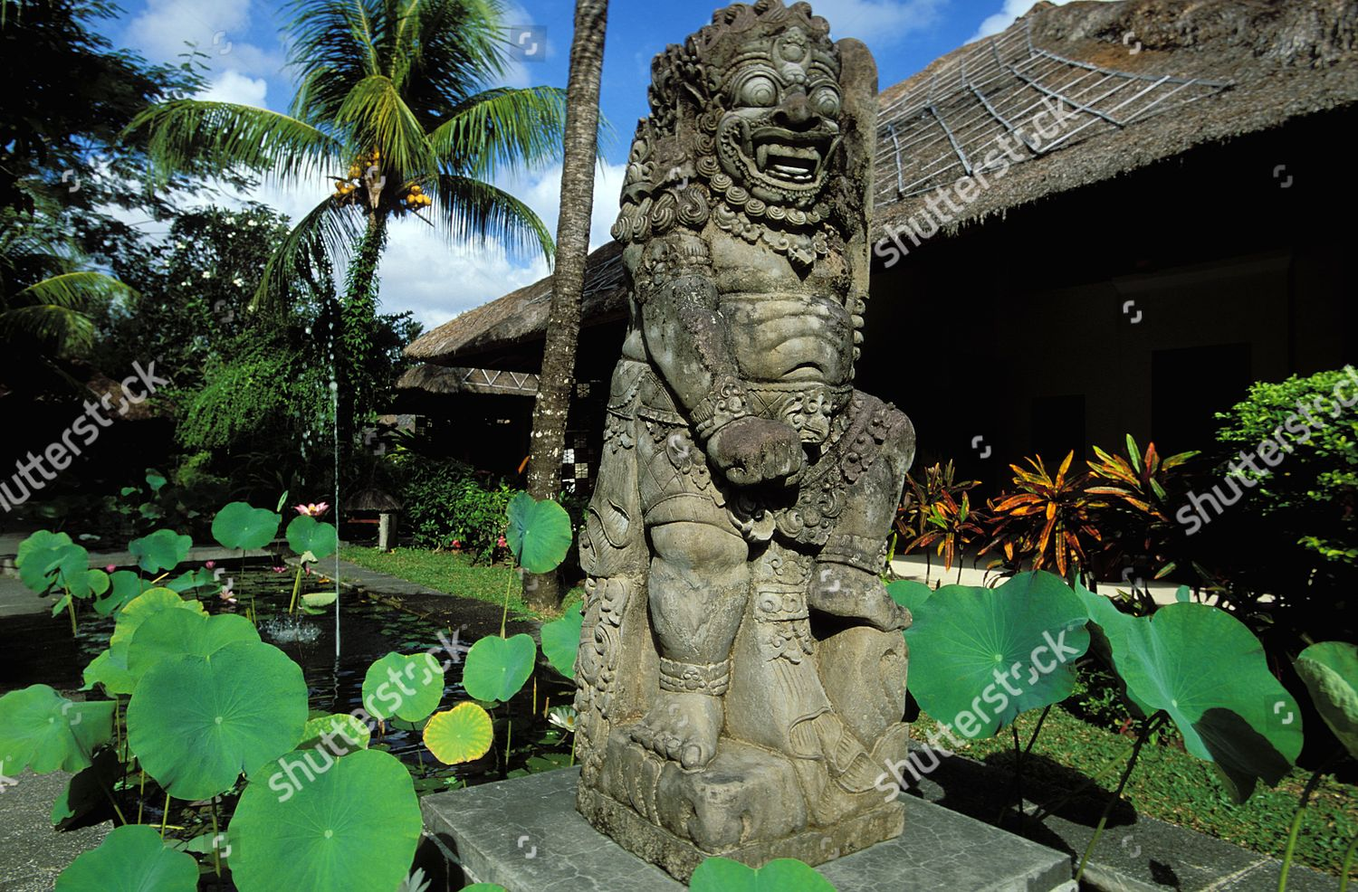 Pansea Puri Bali Hotel Resort Which Consists Editorial Stock