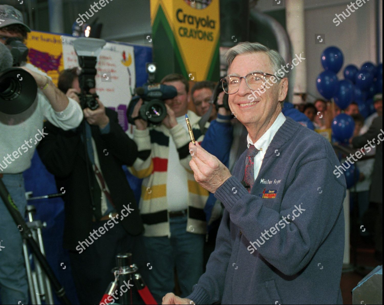 Rogers Fred Rogers Mister Rogers Neighborhood Holds Editorial Stock Photo Stock Image Shutterstock