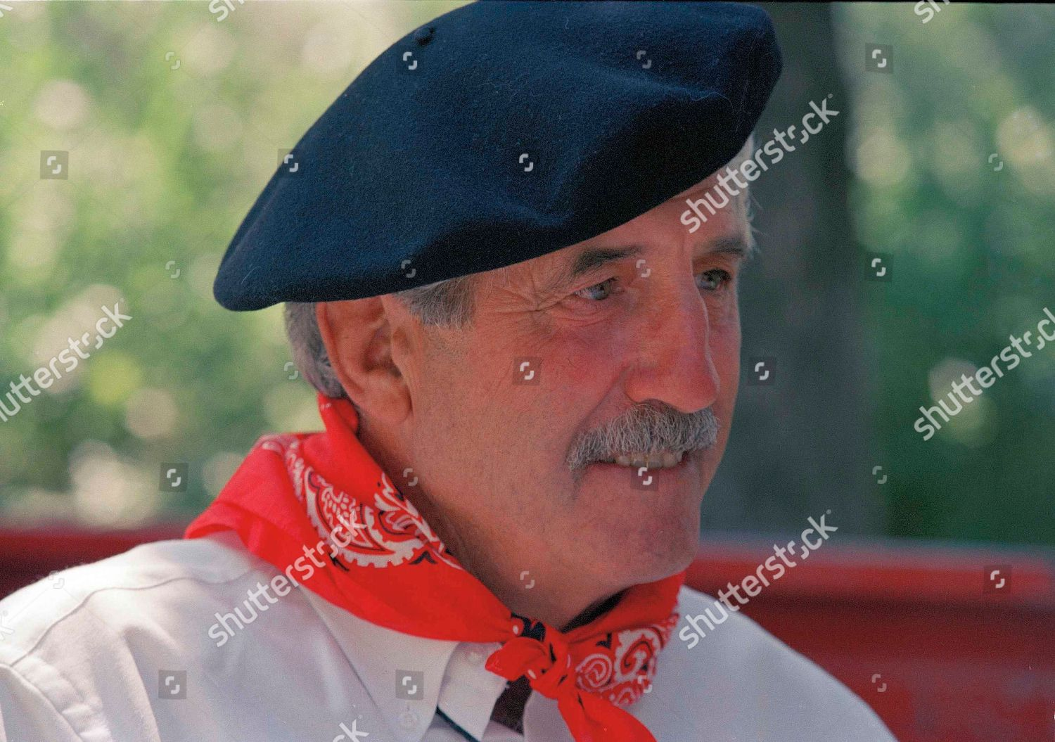 30980764076cd unidentified man Basque ancestry wearing traditional beret Editorial ...