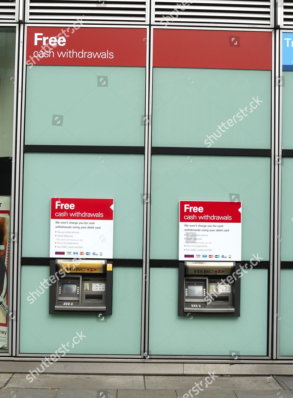 HSBC Bank ATM Machine Editorial Stock Photo - Stock Image | Shutterstock