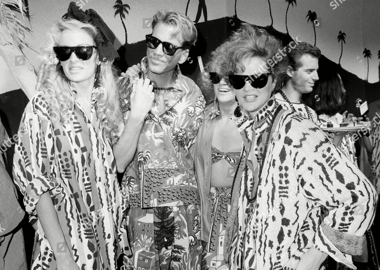Models Pose Fashion Designer Willi Smiths Los Editorial Stock Photo Stock Image Shutterstock