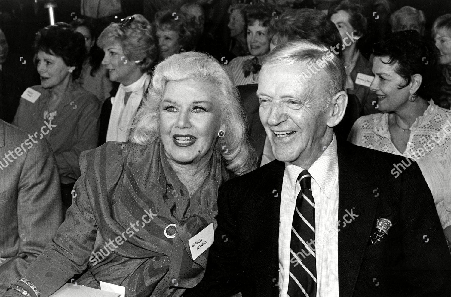 Astaire Rogers Ginger Rogers Fred Astaire Shown Editorial Stock Photo Stock Image Shutterstock