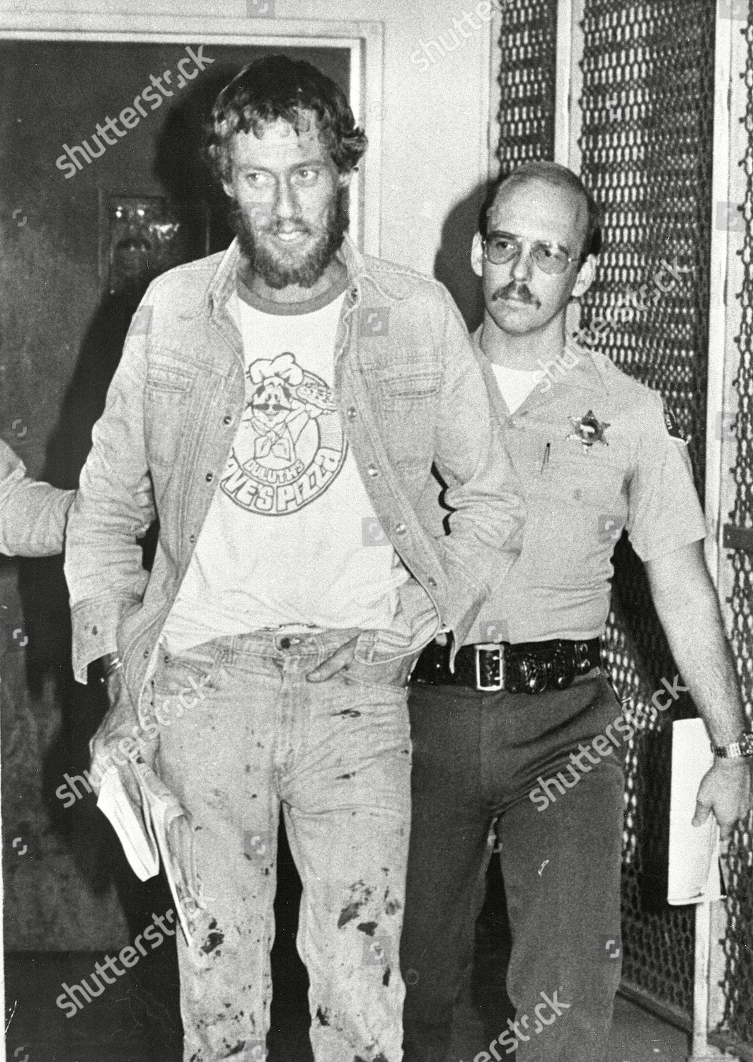 JOHN HOLMES APPEARS IN COURT, LOS ANGELES, USA Stock Image by Wally Fong  for editorial use, Dec 9, 1981