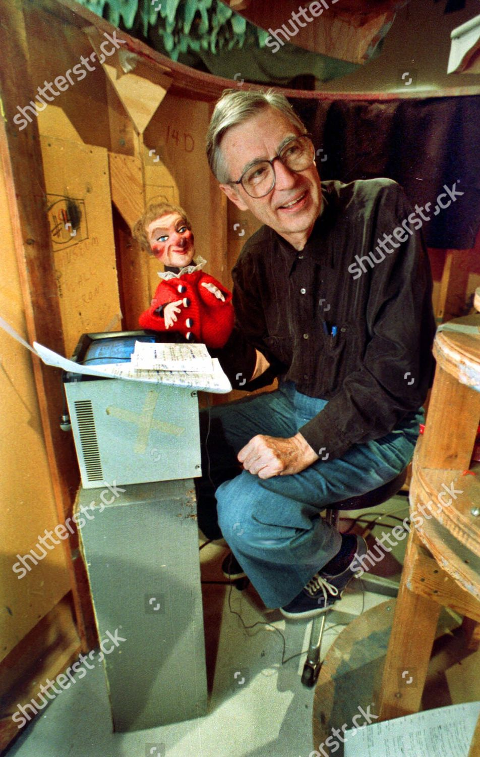 Fred Rogers Fred Rogers Mister Rogers Neighborhood Editorial Stock Photo Stock Image Shutterstock
