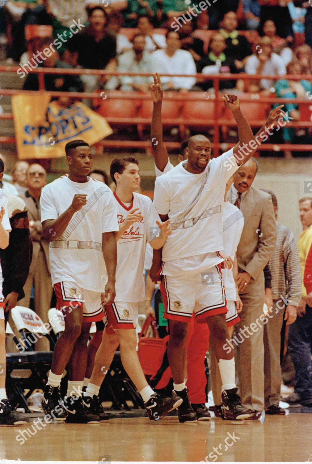 NCAA UNLV Georgetown 1991 Tucson USA Stock Image By Lenny Ignelzi For Editorial Use Mar 17