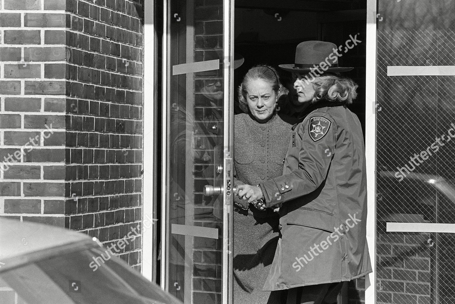 Jean Harris Handcuffed Carrying Book Leaves Westchester Editorial Stock Photo Stock Image Shutterstock