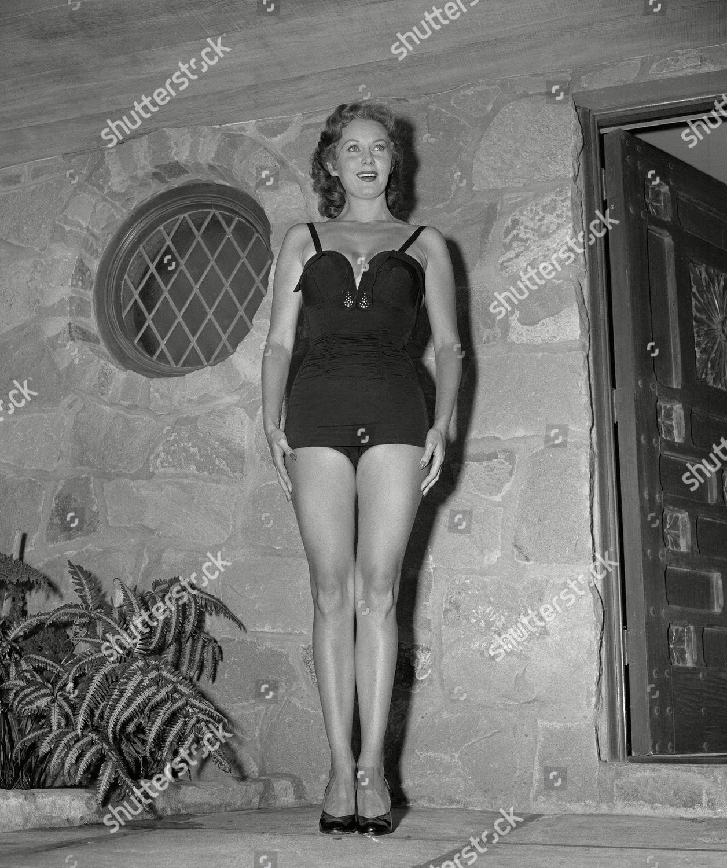 Rhonda Fleming Leggy: Film Actress Rhonda Fleming Beauty By Anyones Editorial