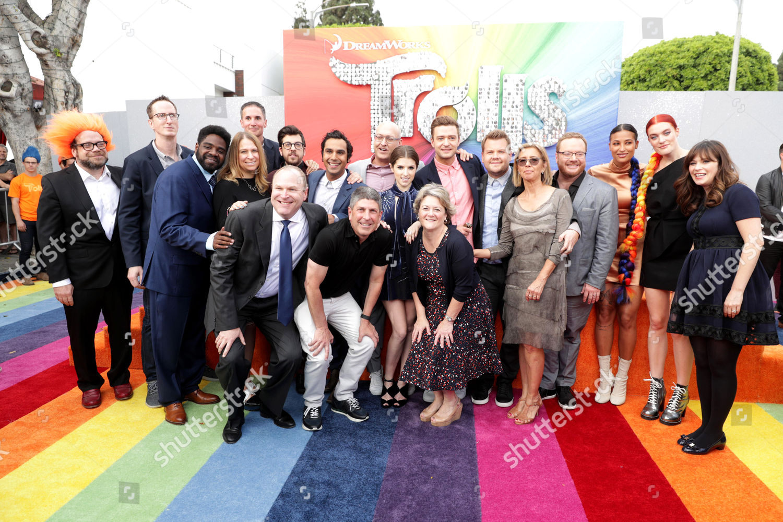 Stock photo of 'Trolls' film premiere, Los Angeles, USA - 23 Oct 2016