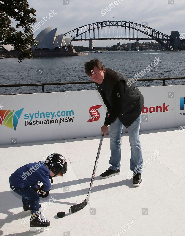 Wayne Gretzky Former National Hockey League Player Editorial Stock