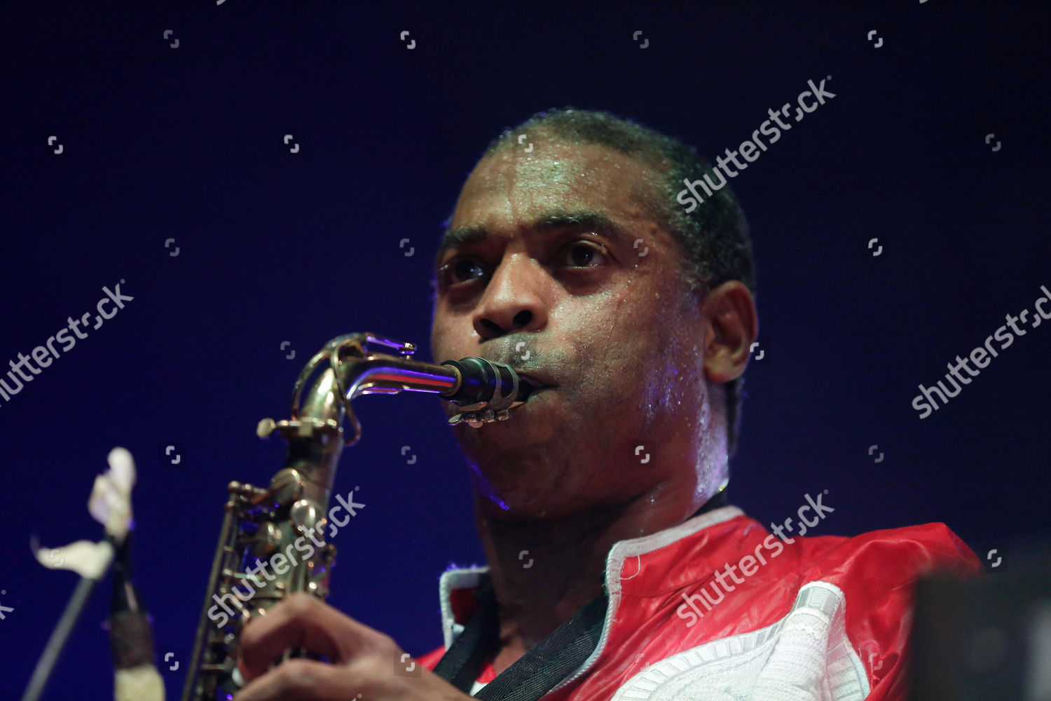 Nigerian musician Femi Kuti son late Afrobeat Editorial Stock Photo
