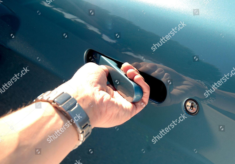 Door Handle Aston Martin V8 Vantage Editorial Stock Photo Stock Image Shutterstock