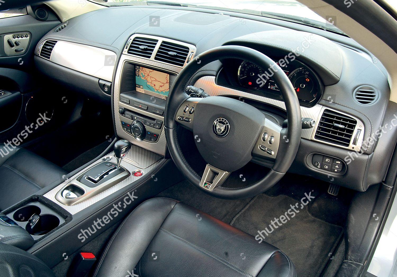 Interior Jaguar Xkr Redaktionelles Stockfoto Stockbild Shutterstock