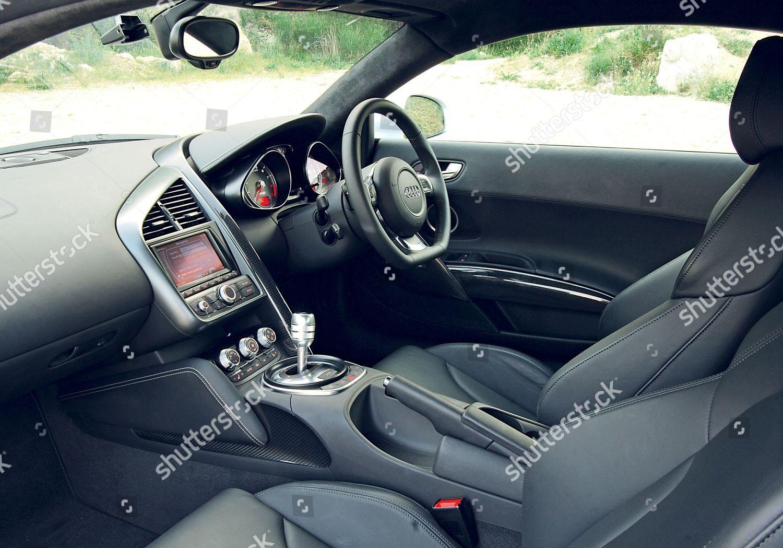 Interior Audi R8 Foto Editorial En Stock Imagen En Stock Shutterstock