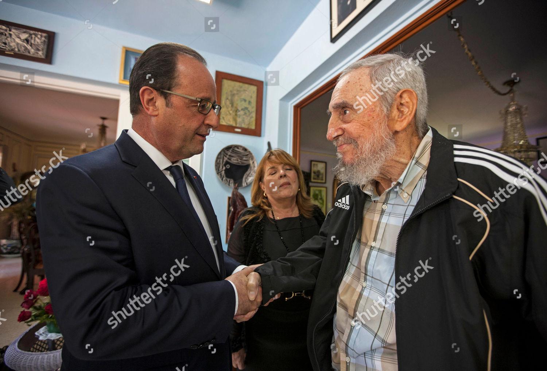 Fidel Castro Francois Hollande Cubas former leader Editorial