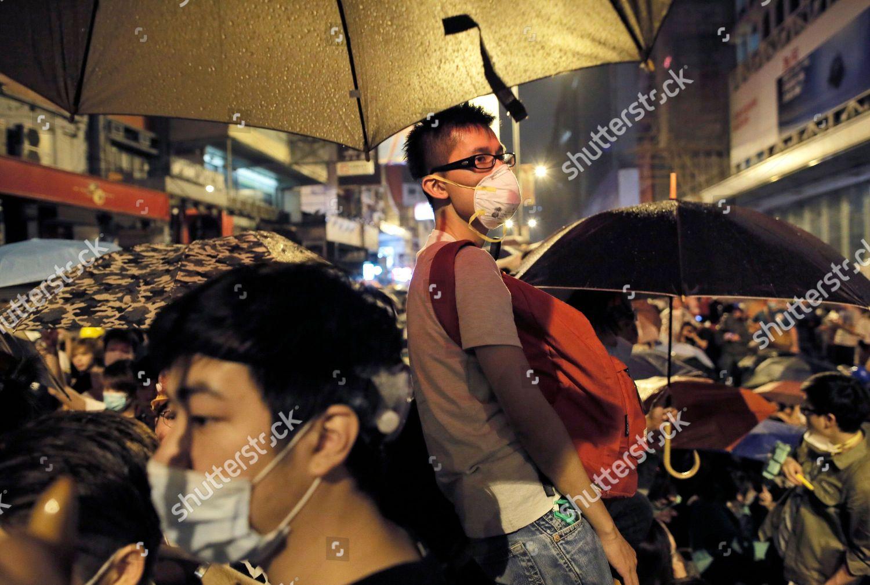 Foto de stock de Hong Kong Democracy Protest