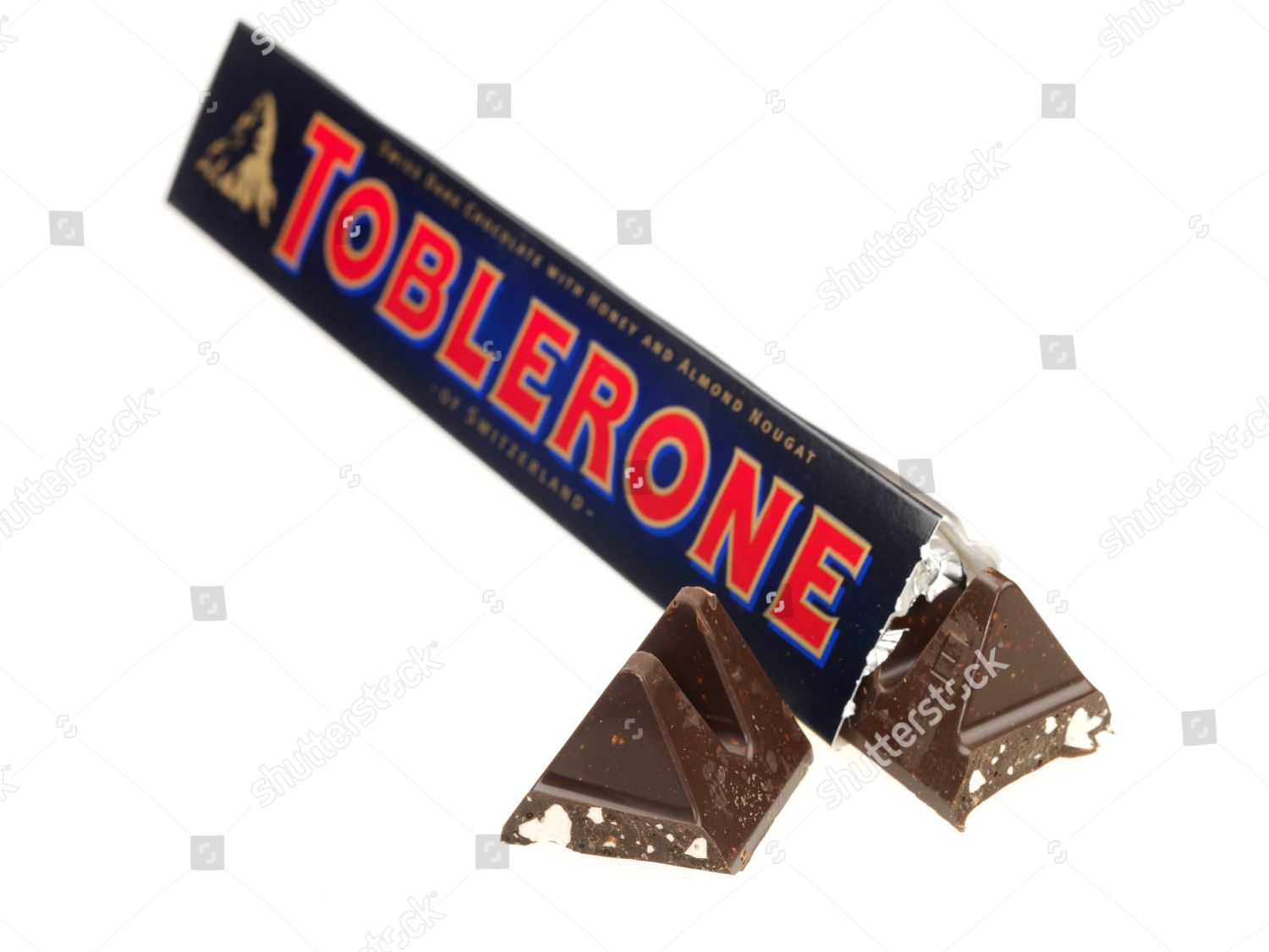 Toblerone Dark Chocolate Editorial Stock Photo Stock Image