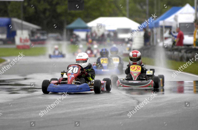 Rye House kart track Editorial Stock Photo - Stock Image