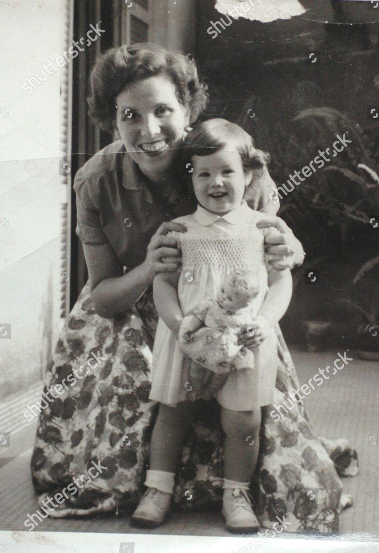 My Home In Paris family photo monica waitzfelder age 2 her editorial stock