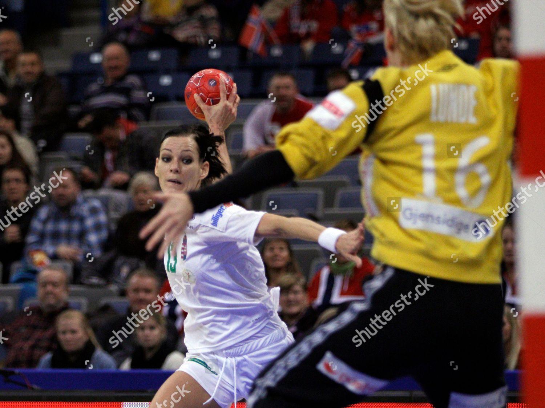 Katrine Lunde Haraldsen Goalkeeper Norway Right Tries Editorial Stock Photo Stock Image Shutterstock