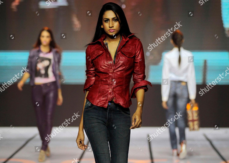 Models Display Creations By Sri Lankan Designer Editorial Stock Photo Stock Image Shutterstock
