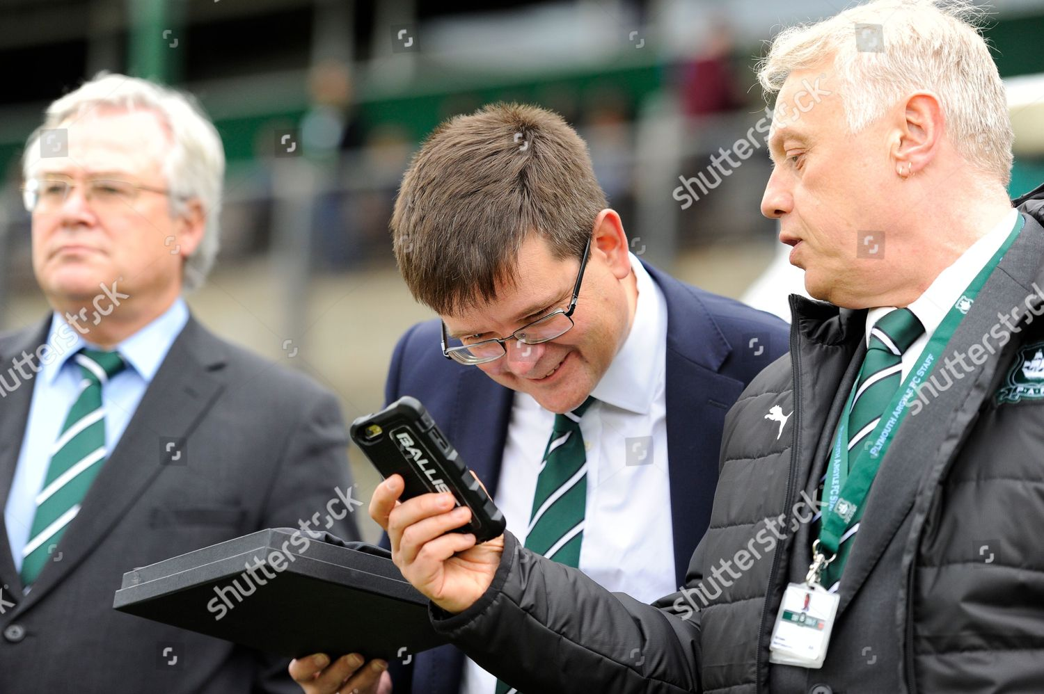 Plymouth chairman James Brent looking someting interesting Editorial