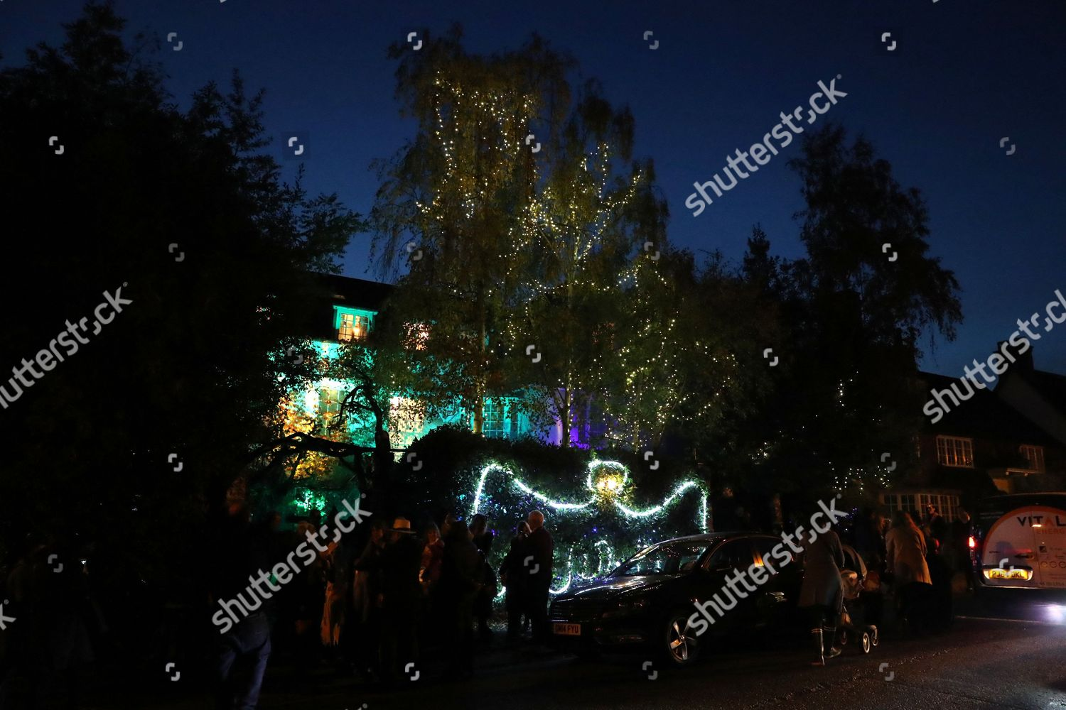 Editorial Stock Photo of Jonathan Rosss Halloween Haunted House ... a2f12ab09ed6