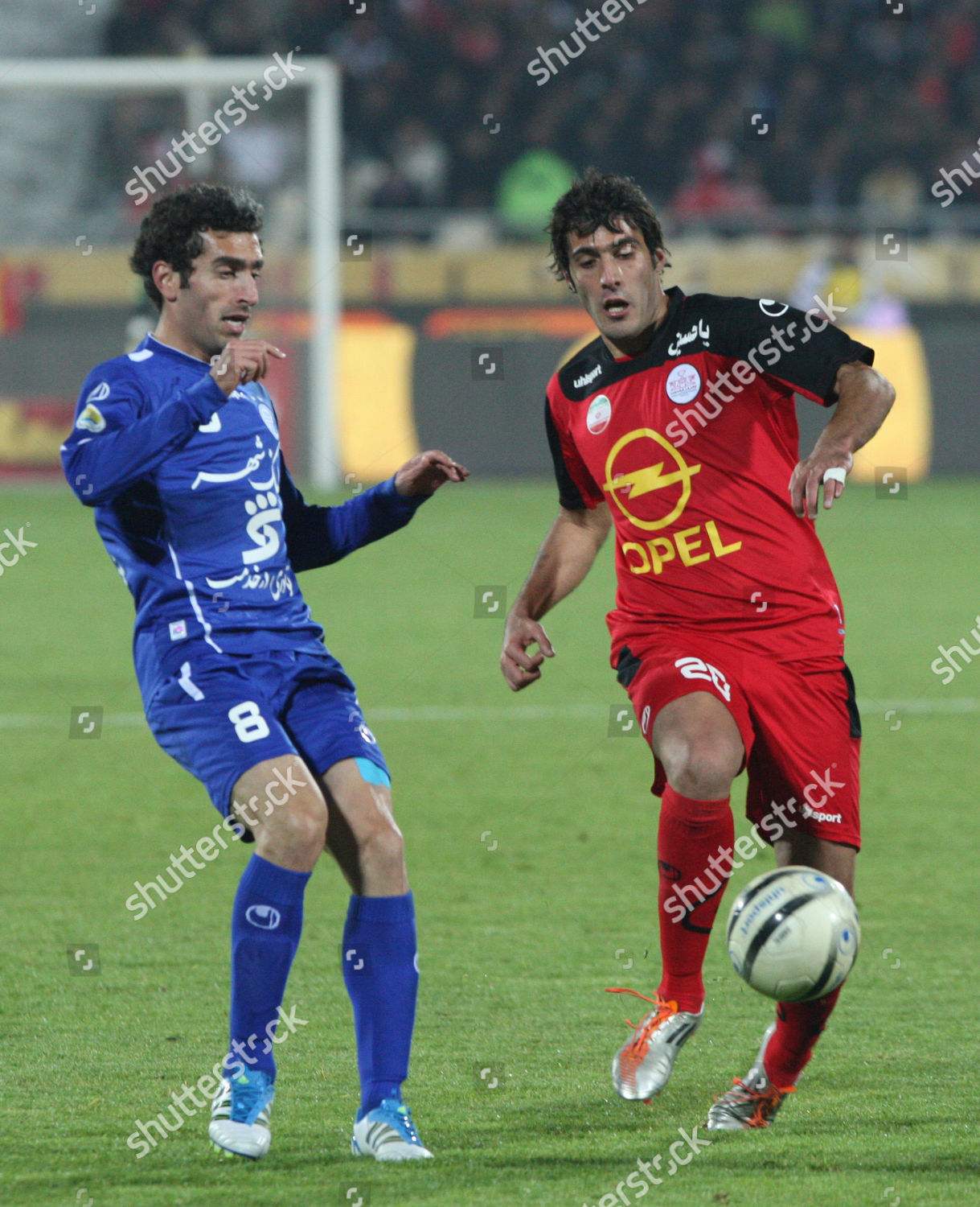 Alireza Nourmohammadi Iranian Persepolis Soccer Team Right Editorial Stock Photo Stock Image Shutterstock