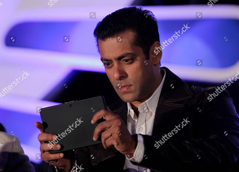 Salman Khan Bollywood actor Salman Khan looks Editorial Stock Photo