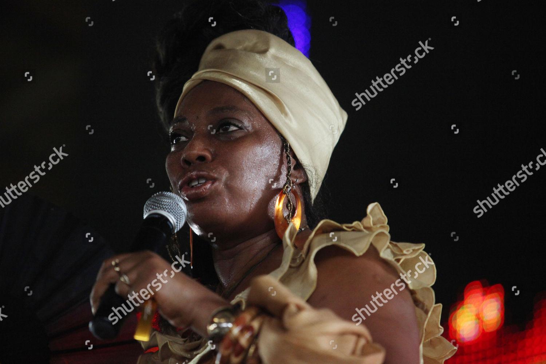 Yeni Kuti daughter Afro Beat musician Fela Editorial Stock Photo