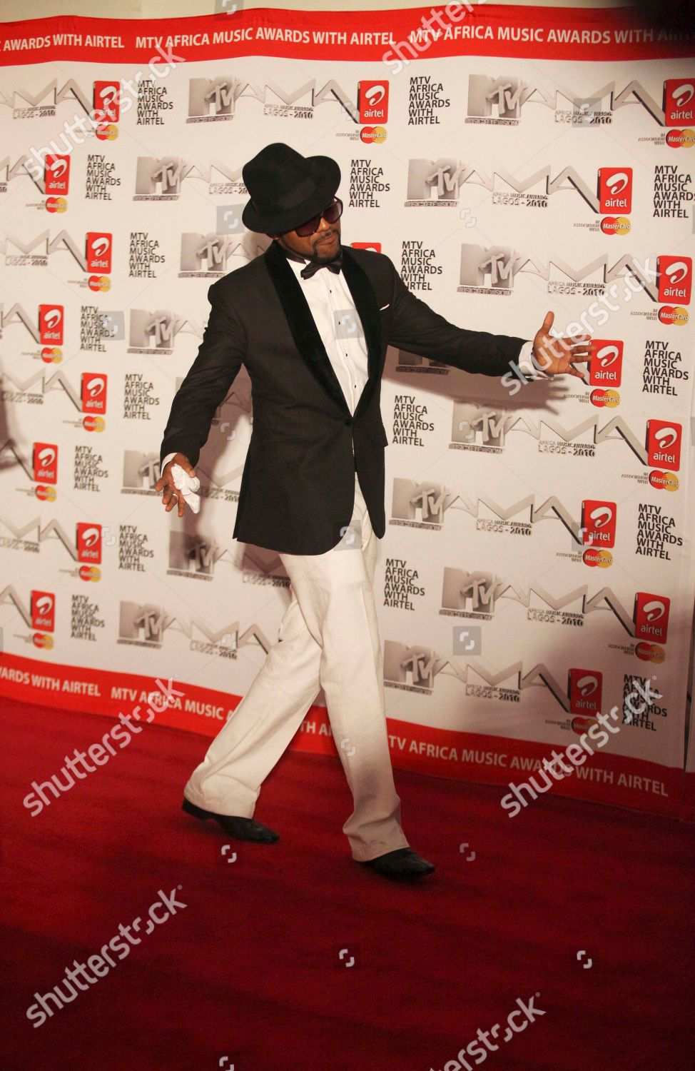 Banky W Nigerian artist Banky W nominee Editorial Stock