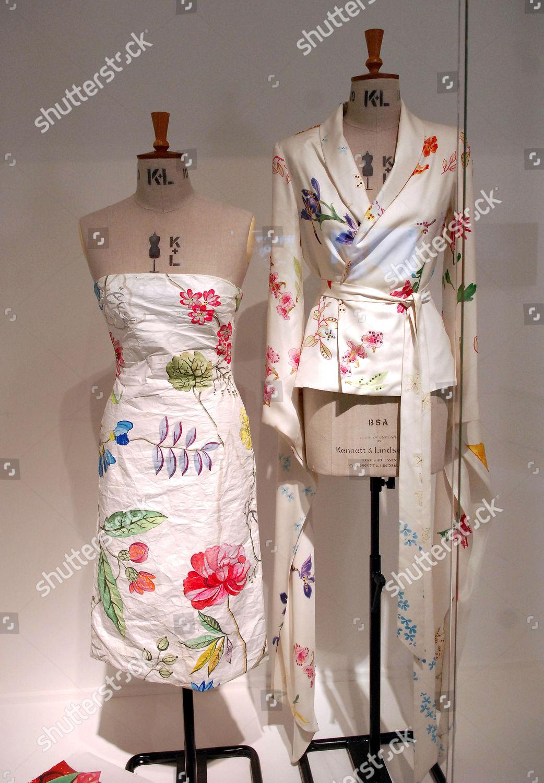 Silk Chinoiserie Kimono Jacket Paper Bustier Dress Editorial Stock Photo Stock Image Shutterstock