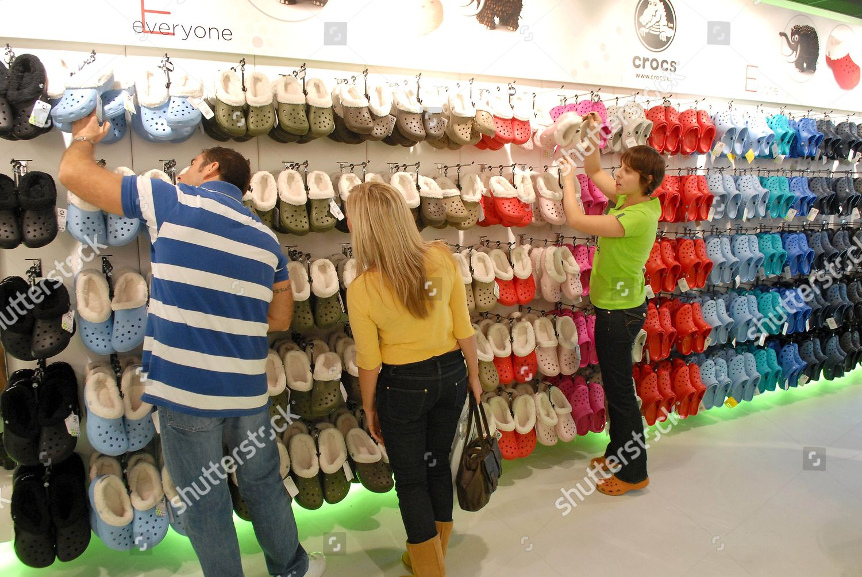 870b4d55b Crocs Store London opening 48 Neal Street Editorial Stock Photo ...